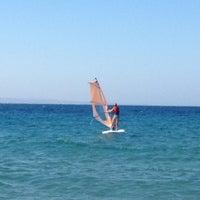 Photo taken at Hayat Bana Güzel Beach by Elif U. on 9/2/2012