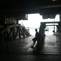 Photo taken at Governors Island Ferry by Michael Z. on 7/14/2012