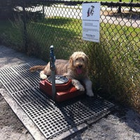 Photo taken at Baron Cameron Dog Park by Whitney S. on 10/9/2011