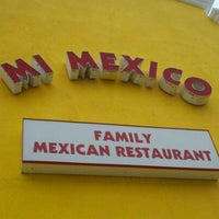 Photo taken at Mi Mexico by Del B. on 12/15/2011