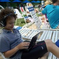 Photo taken at Seven Locks Pool by Nancy E. on 6/17/2012