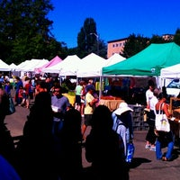 Photo taken at University District Farmers Market by Harry W. on 8/25/2012