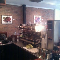 Photo taken at Pourquoi Pas Espresso Bar by Tara H. on 1/28/2012