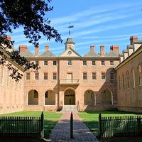 Photo taken at Wren Building and Courtyard by William & Mary on 12/19/2011