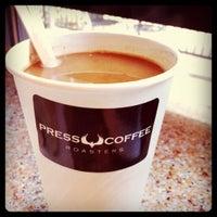 Photo taken at Press Coffee by Alex D. on 2/6/2011
