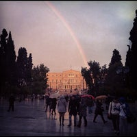 Photo taken at Syntagma Square by Konstantinos P. on 1/25/2012