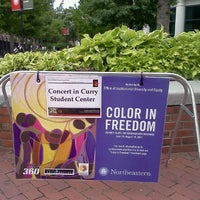 Photo taken at Curry Student Center by Ginnette P. on 8/14/2011