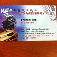 Photo taken at WS Auto Parts Supply by Frankie E. on 6/9/2011