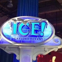 Photo taken at ICE! & SNOW Tubing - Gaylord Texan by Kevin W. on 12/28/2011