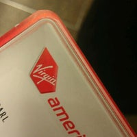 Photo taken at Virgin America by LeoArtLove A. on 1/12/2012
