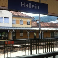 Photo taken at Bahnhof Hallein by C C. on 5/15/2012