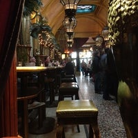 Photo taken at Café en Seine by Elena P. on 2/25/2012