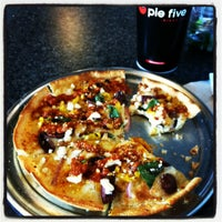 Photo taken at Pie Five Pizza Co. by Alexandra W. on 5/16/2012