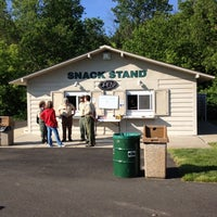 Photo taken at TD Bank Amphitheater Snack Stand by Jim L. on 5/19/2012