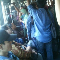 Photo taken at Transjakarta koridor 3 by Denny H. on 4/12/2012