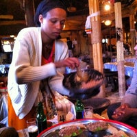 Photo taken at Yod Abyssinia Cultural Restaurant by Albert C. on 9/8/2012