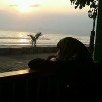 Photo taken at Pantai Pelabuhan Ratu by Tedy Priyadi K. on 9/16/2011