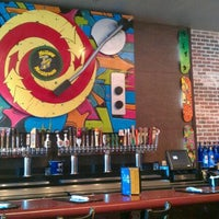 Photo taken at Mellow Mushroom by Cassie S. on 1/19/2012