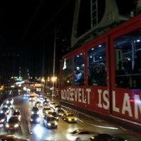 Photo taken at Roosevelt Island Tram (Manhattan Station) by Greg H. on 1/29/2012