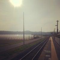Photo taken at Higashi-Kanai Station by incmplt on 5/13/2012