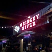 """Photo taken at Whiskey River Dancehall & Saloon by Jason """"Danger"""" D. on 1/13/2012"""