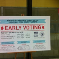 Photo taken at Chicago Board of Elections by John M. on 3/15/2012