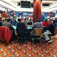 Photo taken at Poker Room at Foxwoods Resort Casino by Kevin C. on 4/9/2012