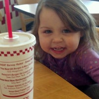 Photo taken at Five Guys by Michelle E. on 1/6/2012