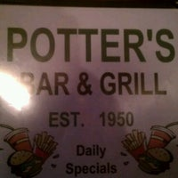 Photo taken at Potter's Grill by J.R. G. on 11/1/2011