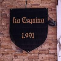 Photo taken at La esquina by Víctor y Frank L. on 8/15/2012