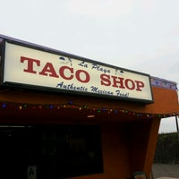 Photo taken at La Playa Taco Shop by Becca S. on 6/3/2012
