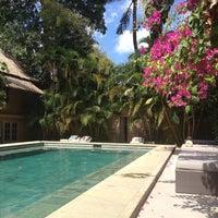 Photo taken at Villa Balquisse Bali by Beatriz on 8/23/2012