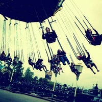 Photo taken at Silly Symphony Swings by Melissa L. on 5/22/2011