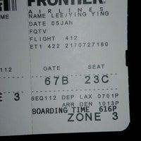 Photo taken at Gate 67B by 🎀 on 1/6/2012