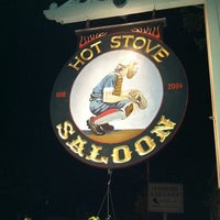 Photo taken at Hot Stove Saloon by Alejandro H. on 9/4/2011