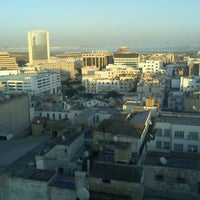 Photo taken at El Hana International Hotel Tunis by Mejdi K. on 12/3/2011