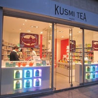 Photo taken at Kusmi Tea by Jiny K. on 1/3/2012