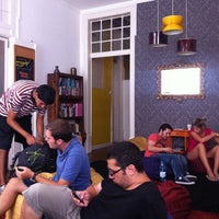 Photo taken at Travelers House Hostel by c. a. on 9/15/2011