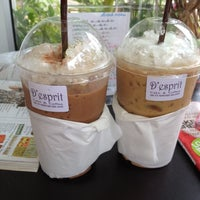 Photo taken at D'esprit Home Made Bakery by Tabtida M. on 6/4/2012