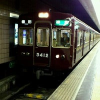 Photo taken at Kawaramachi Station (HK86) by Tatsuya D. on 1/21/2012