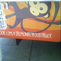 Photo taken at Fire Monkey Food Truck by Amandae M. on 10/28/2011