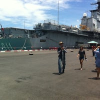 Photo taken at HTMS Chakri Naruebet by Somsom F. on 7/24/2011