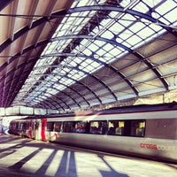 Photo taken at Newcastle Central Railway Station (NCL) by George T. on 8/29/2012