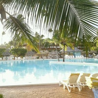 Photo taken at Pool Iberostar Punta Cana & Dominicana by Bruno G. on 1/28/2012