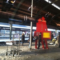 Photo taken at Hagen Hauptbahnhof by Adeem on 12/25/2010