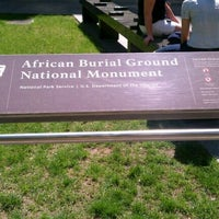 Photo taken at African Burial Ground National Monument by Abi B. on 4/16/2012