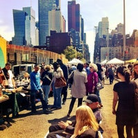 Photo taken at Hell's Kitchen Flea Market by Sasha C. on 4/15/2012