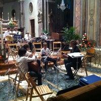Photo taken at Chiesa di Roddi by Elena E. on 6/11/2011