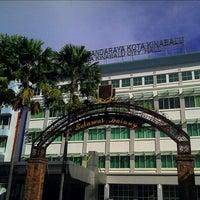 Photo taken at Dewan Bandaraya Kota Kinabalu by Hafiz S. on 11/15/2011