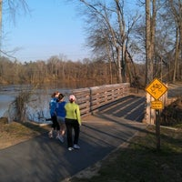 Photo taken at Riverwalk Trail by Mike M. on 1/31/2012